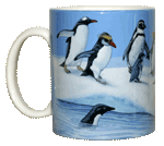 Penguins of the World Ceramic Mug