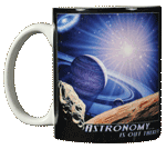 Astronomy Is Out There Ceramic Mug - Front
