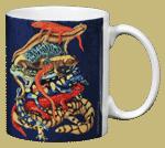 Pile-O-Manders Ceramic Mug - Back