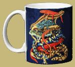 Pile-O-Manders Ceramic Mug