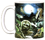 Nightlife Ceramic Mug - Front