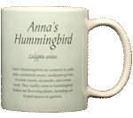 Anna's Hummingbird Ceramic Mug test8