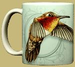Rufus Hummingbird Ceramic Mug