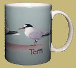 Tern, Tern, Tern Ceramic Mug - Back