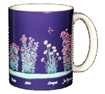 Butterfly Nectar Ceramic Mug - Back