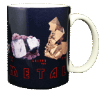 Heavy Metal Ceramic Mug - Back