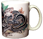 Backyard Herps Ceramic Mug - Back