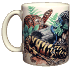 Backyard Herps Ceramic Mug - Front