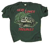 Gator Trouble Youth T-shirt
