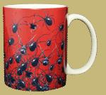Arachnophobia Ceramic Mug - Back
