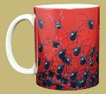 Arachnophobia Ceramic Mug - Front