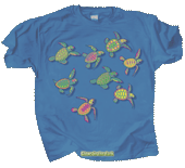 Sea Turtle Glow Youth T-shirt