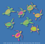 Sea Turtle Glow Youth T-shirt - Front