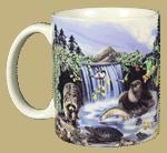 Woodland Critters Ceramic Mug - Front