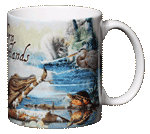 Southern Wetlands Ceramic Mug - Back