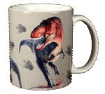 Rex Trax Ceramic Mug - Back