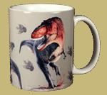 Rex Trax Ceramic Mug - Back