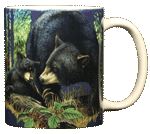 Bear Mom Ceramic Mug - Back