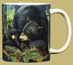Bear Mom Ceramic Mug - Back