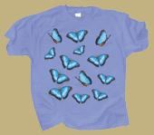Morpho Glitter Adult T-shirt