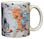 Bird Migration Ceramic Mug - Back