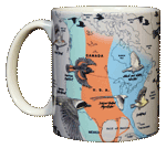Bird Migration Ceramic Mug - Front