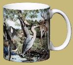 Southern Hammock Ceramic Mug - Back