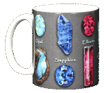 Gem Stones Ceramic Mug