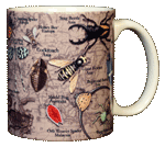Insects, Etc. Ceramic Mug