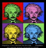 Imagine Einstein Adult T-shirt test8