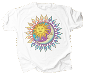 Sun Power/Moon Glow Adult T-shirt