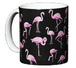 Flamingos Ceramic Mug