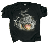 Gator Encounter Adult T-shirt
