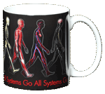 All Systems Go! Ceramic Mug - Back