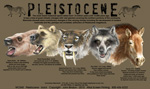 Pleistocene Adult T-shirt - Back