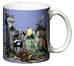 Backyard Buddies Ceramic Mug - Back