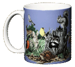 Backyard Buddies Ceramic Mug - Front