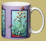 Agave Ceramic Mug - Back