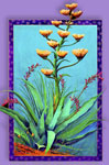 "Agave 2"" X 3"" Magnet"