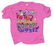Butterfly Alphabet Youth T-shirt