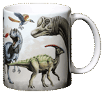 Dinosaur Rumble Ceramic Mug