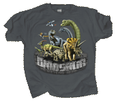 Dinosaur Rumble Youth T-shirt