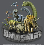 Dinosaur Rumble Youth T-shirt - Front