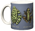 Frog Circle Ceramic Mug