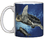 Loggerhead Turtles Ceramic Mug