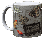 Frogs of the Americas Ceramic Mug - Front