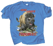 Buffalo Trouble Youth T-shirt