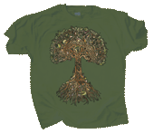 Tree of Life Adult T-shirt - Front