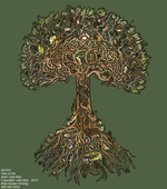 Tree of Life Adult T-shirt test8