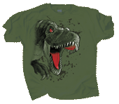 Rex Rush Adult T-shirt